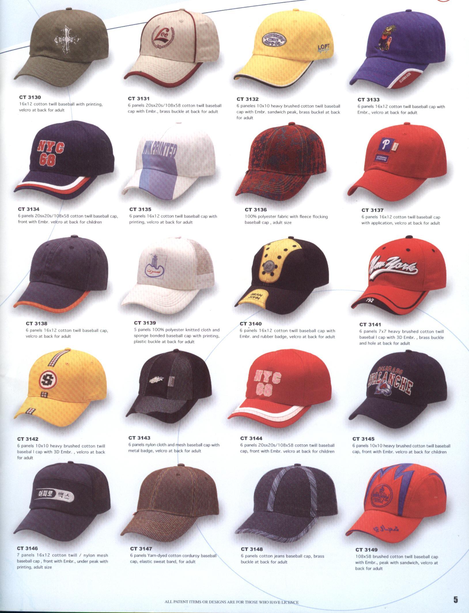 cap,hat,bag,belt