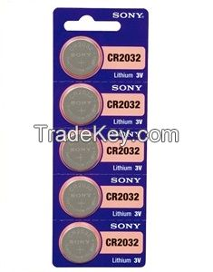 Sony button cell Watch batteries