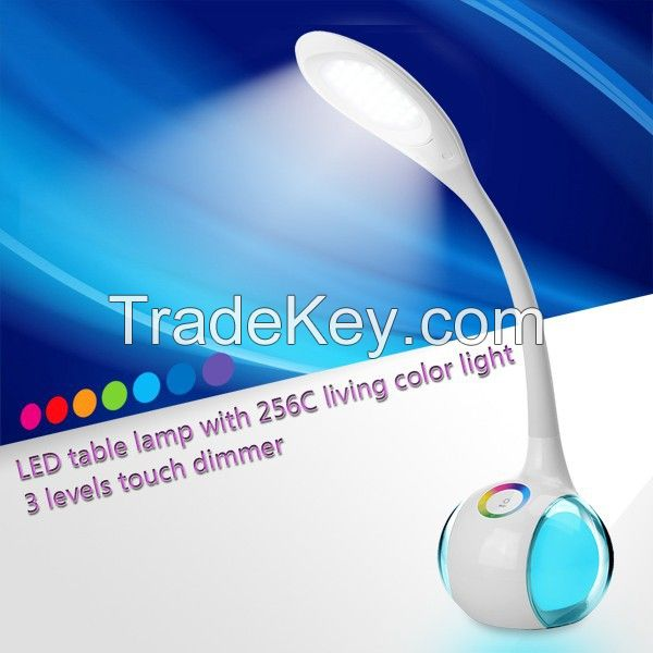 LED study table led night desk reading lamp light