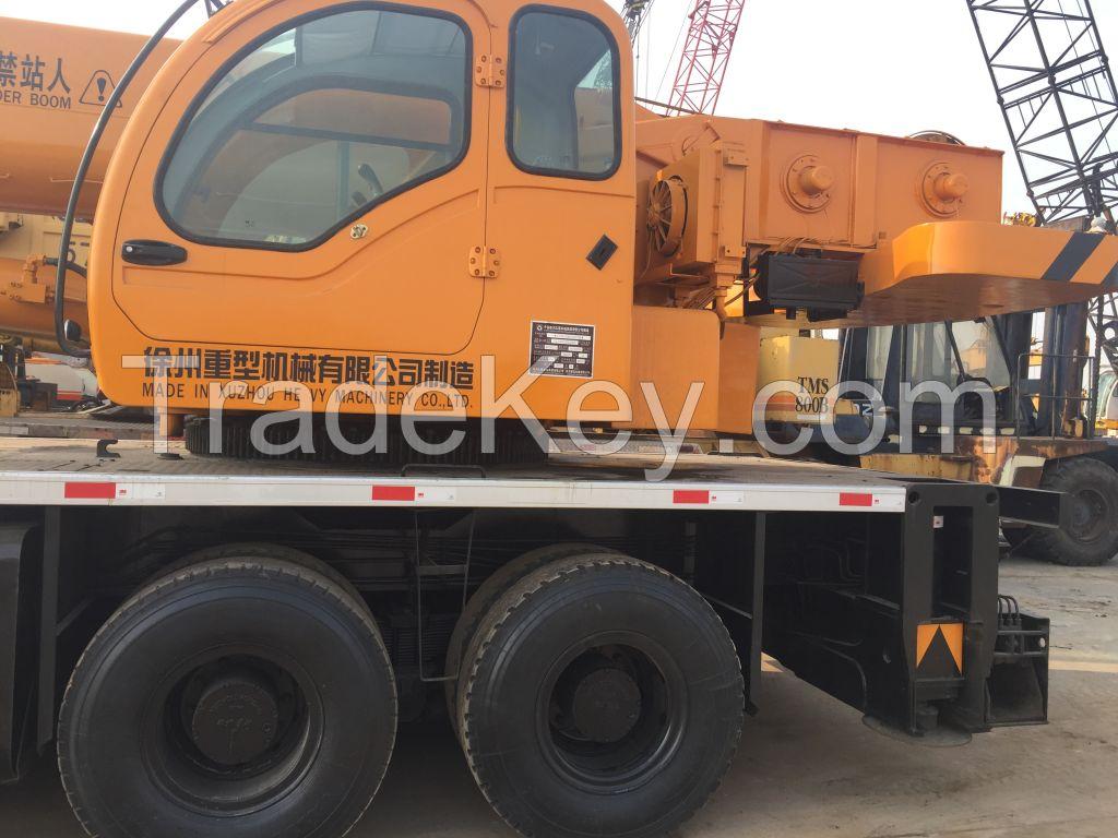 2012 model good condition XCMG QY50K truck crane