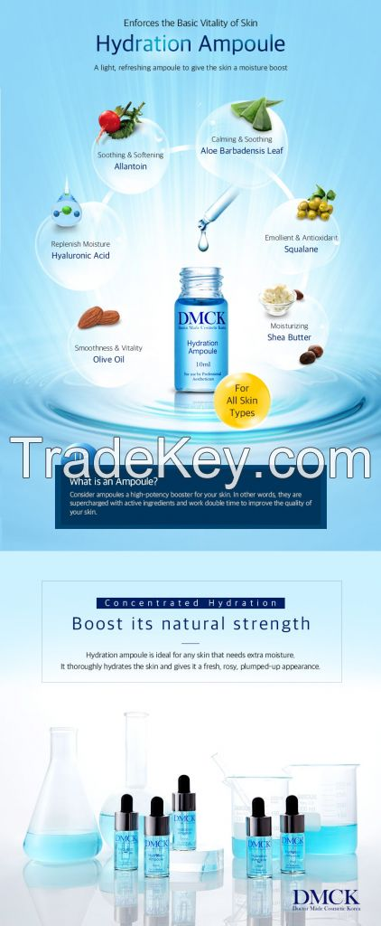 DMCK Hydration Ampoule - best selling dry skin treatment