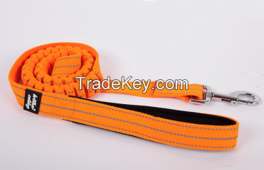 New product Elastic shock damped Dog leash with spring rope