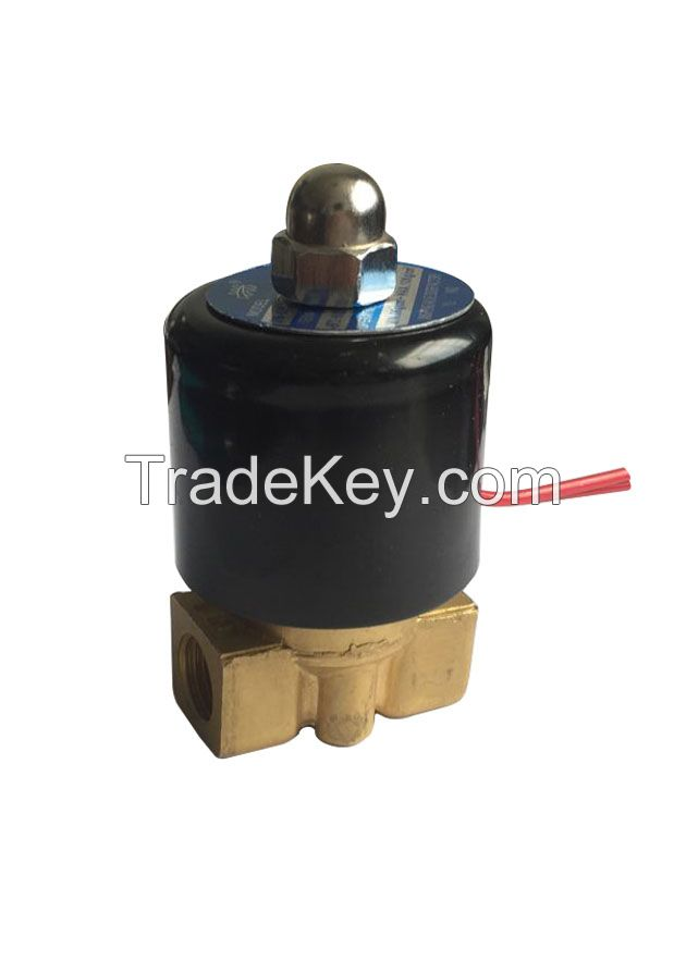 2W series brass water , hot water, gas solenoid valve
