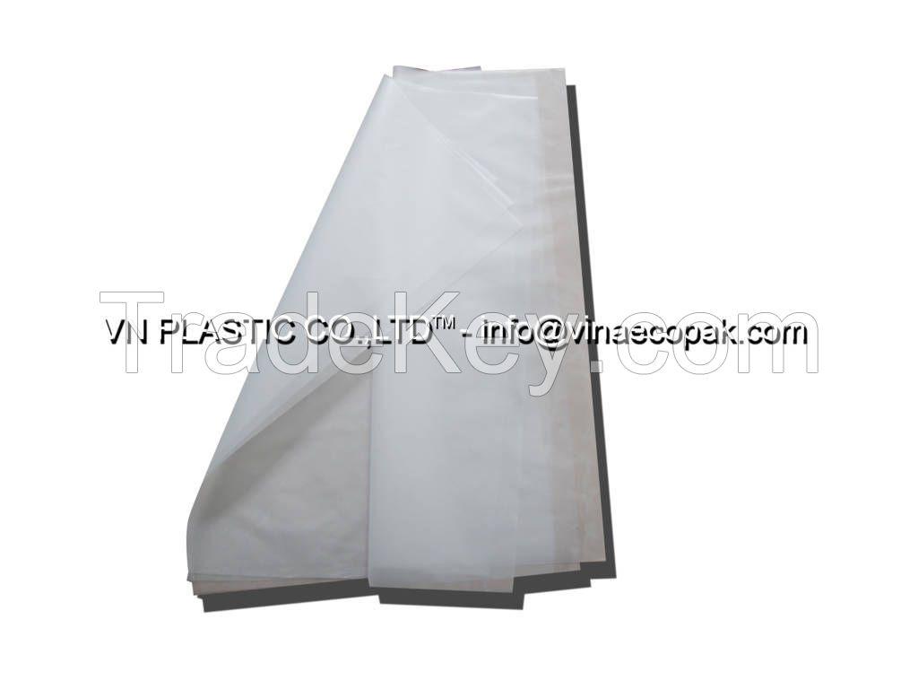 Flat bag on roll