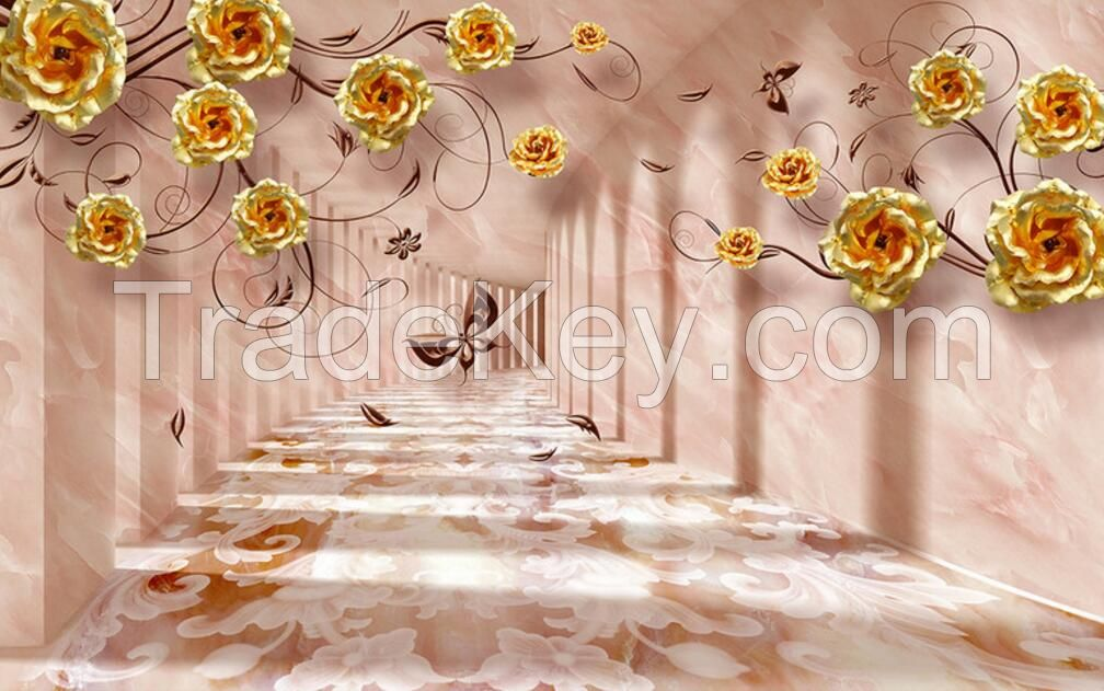 3D modern wall mural wall painting wallcovering for home  decoratrion oil paintings
