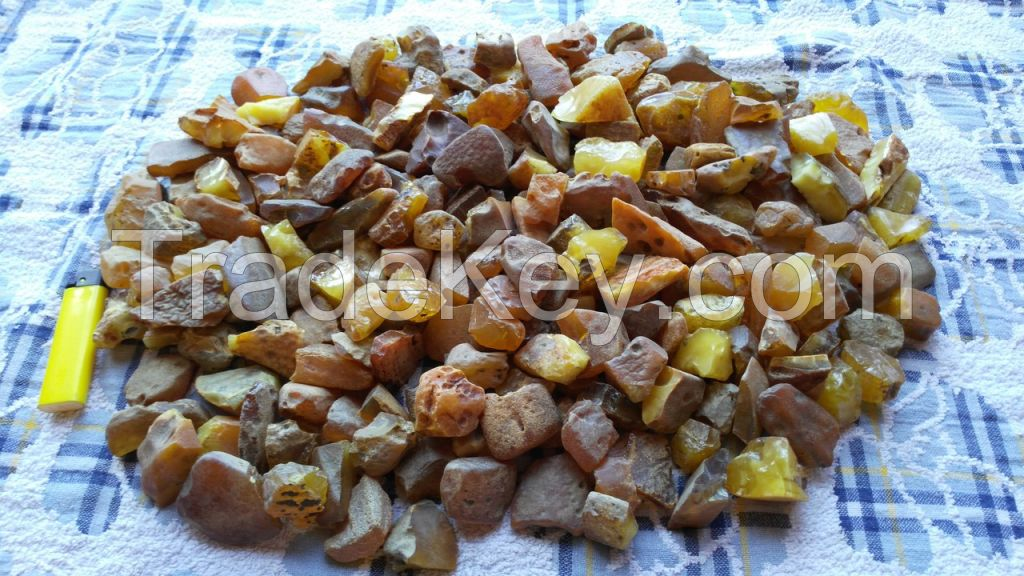 NATURAL BALTIC RAW AMBER MATERIAL 5-10 gr