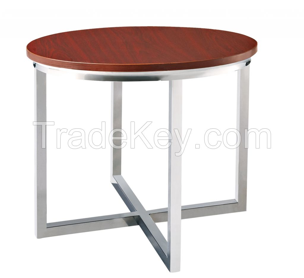 MS-3354 SHIMING FURNITURE Modern square (MDF) top antique side table, telephone table, console table, end table.