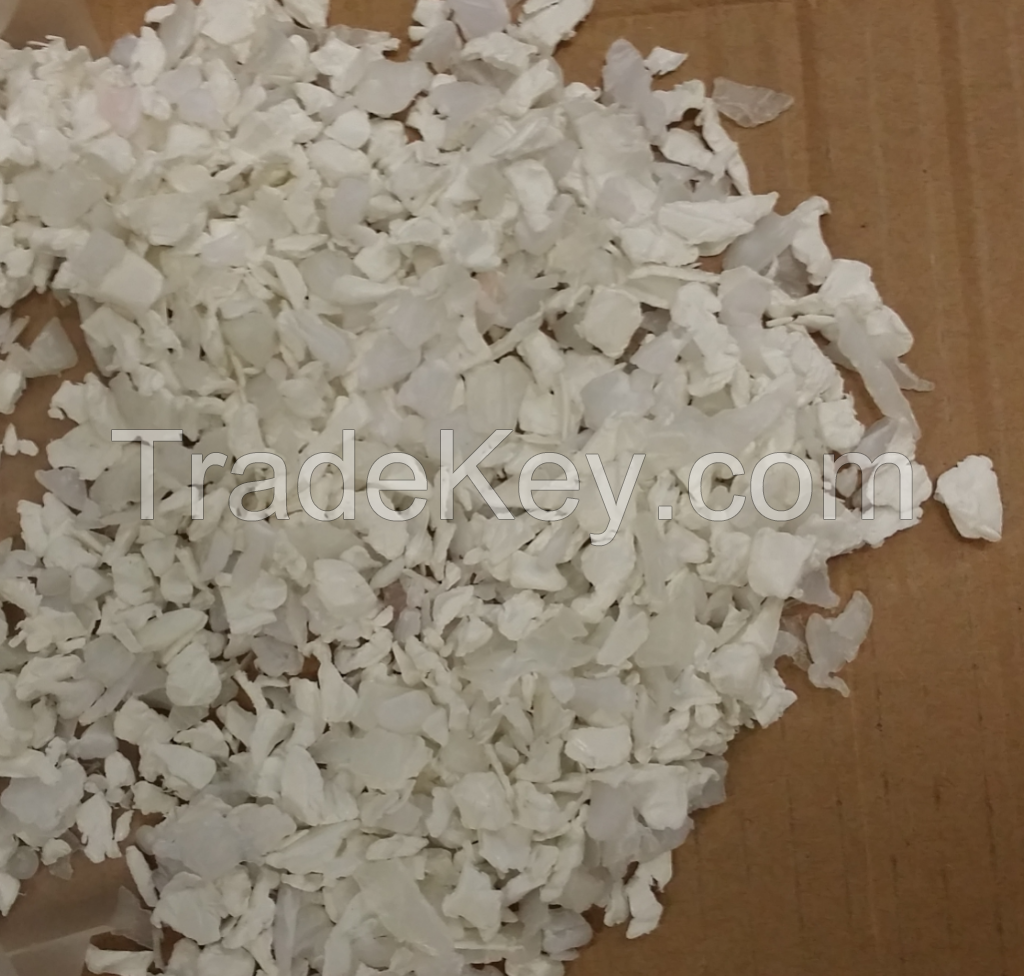Natural and White HDPE Regrind (from bottles) - Clean and Pure