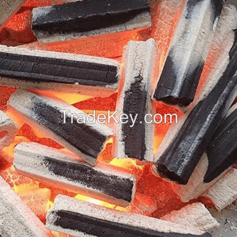 Hexagonal Briquette Charcoal - Natural Hardwood Charcoal