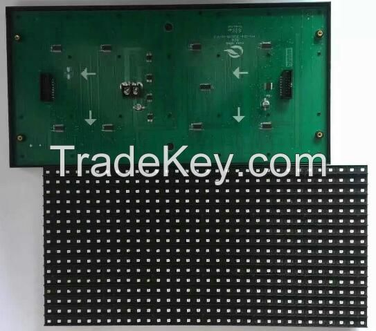 High Brightness P10 SMD3528 Single Color LED Display Module