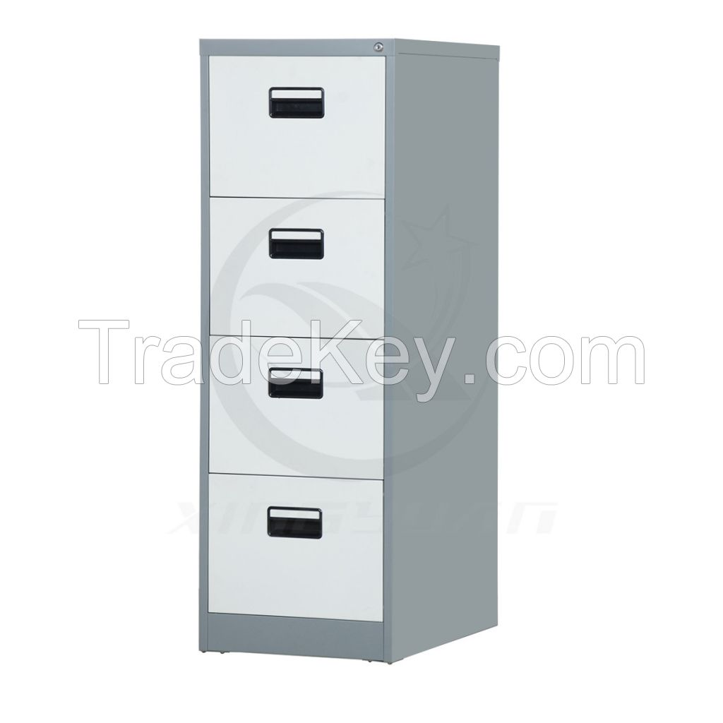 Cheap china lockable 4 drawer used industrial steel storage cabinets
