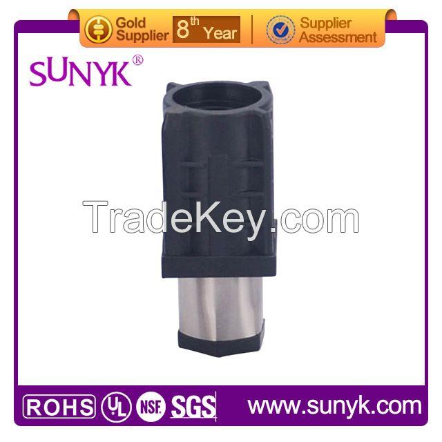 41 * 41mm square tube bullet feet