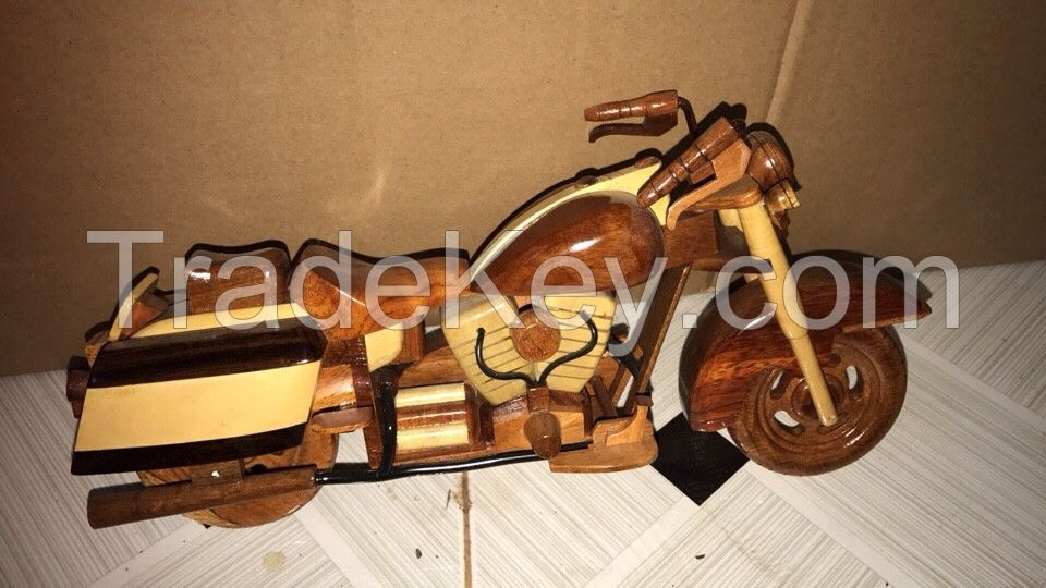 Wooden Motobike Craft