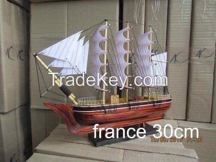 Wooden Sailing Boat Craft