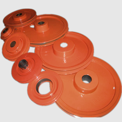 China OEM cast iron v belt and u belt pulley for ceramic industry