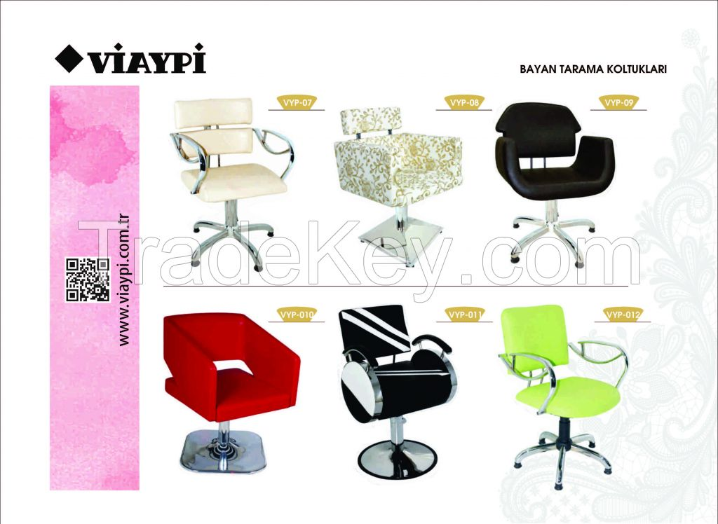Hair Salon Chairs , Hairdresser Chair For Women , Hairdresser Chairs , Hair Cutting Chairs , Viaypi Company, Barber Chairs , Hairdresser Salon Chair , Turkey