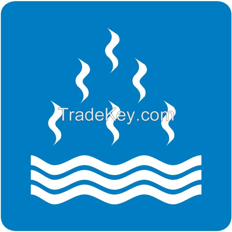 Colombia Road Traffic Geothermal Pool Sign | Geothermal Pool Signal | Evacuation Route Signs | Custom Road Signs