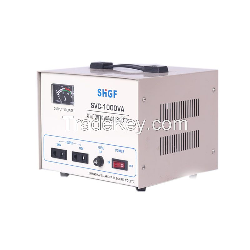 SVC/TND-1000VA series single phase voltage stabilizer