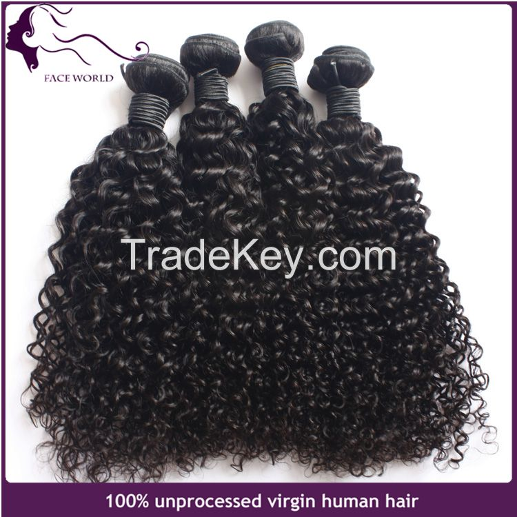 Faceworld hair wholesale virgin remy malaysian human hair weaving