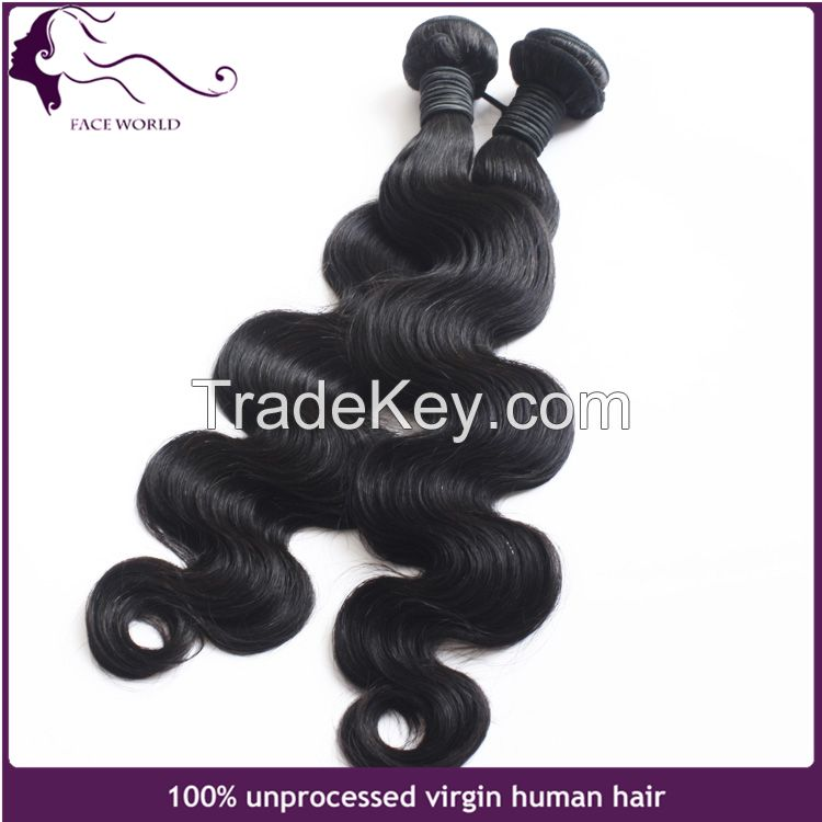 Faceworld hair wholesale human hair weft