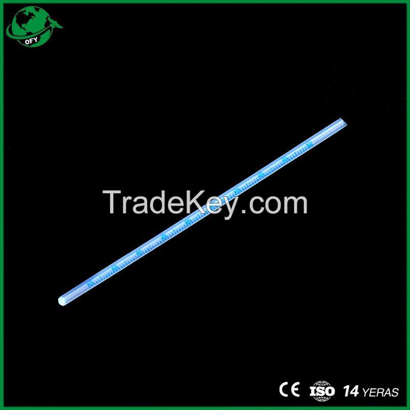 Lab Plastic Disposable Hematocrit Tube