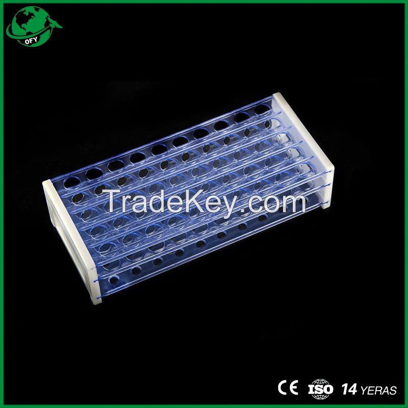 Lab Plastic Test Tube Rack Detachable