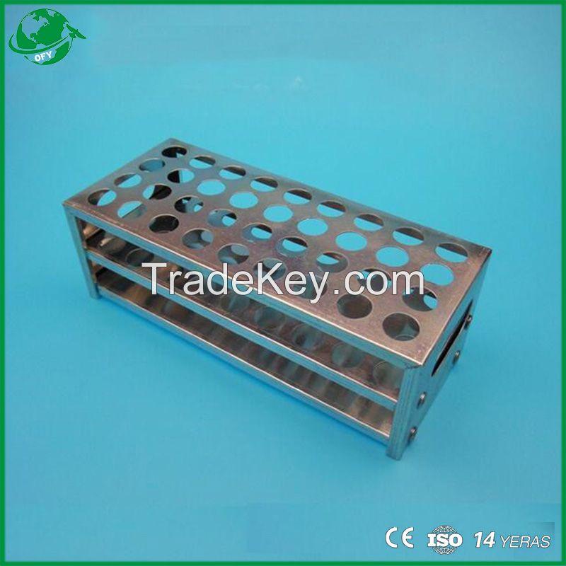 Stainless Steel Test Tube Rack