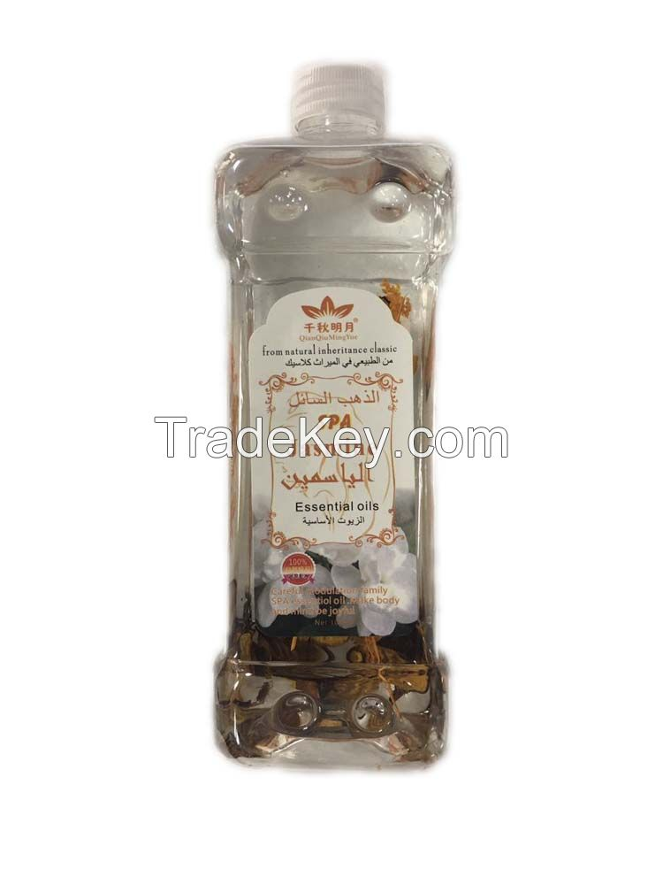 Massage spa used good quality and factory price essential oil