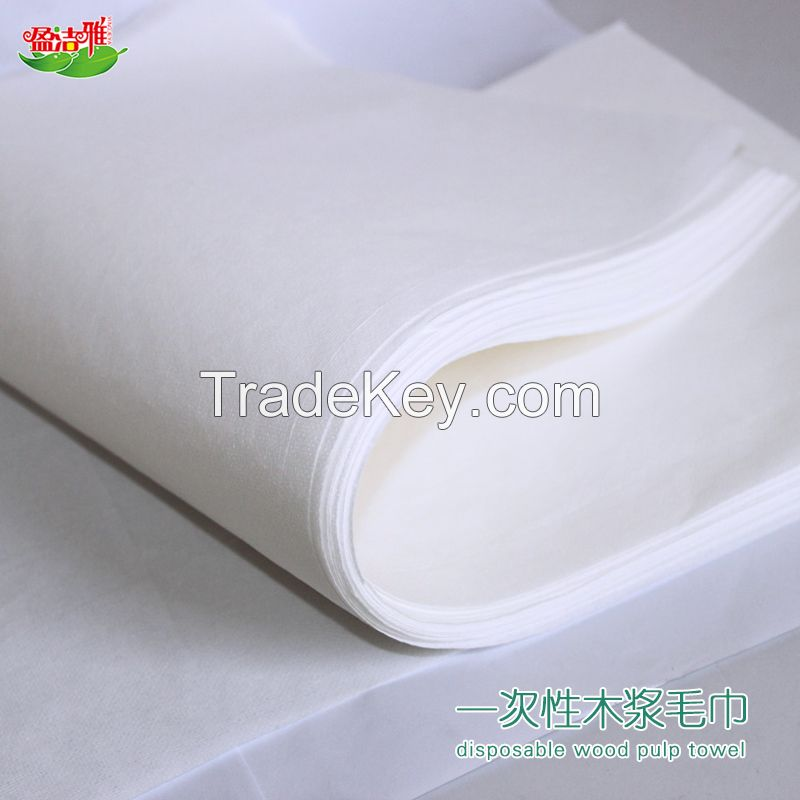 Customized promotional cheap disposable salon towel massage towel