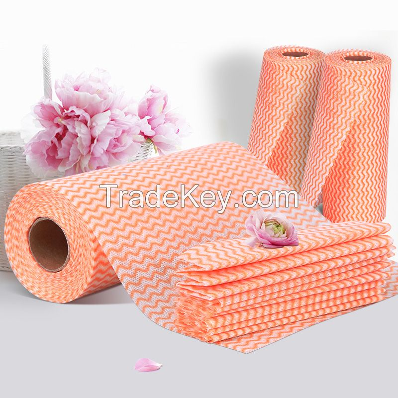 cheap disposable kitchen wipe, dish cloth, roll towels