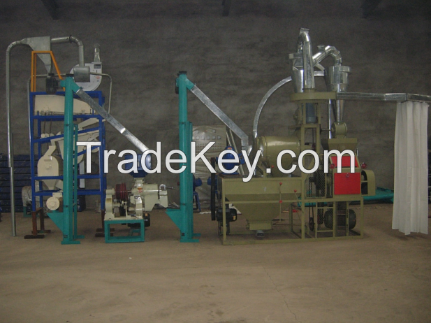 8ton maize milling equipment