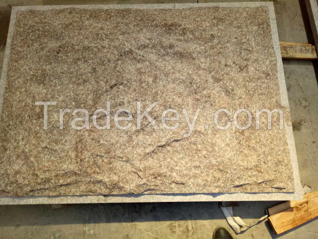 G687 Natural Split Granite Tile best quality by Xiamen  Dingzuan Trading Co.,
