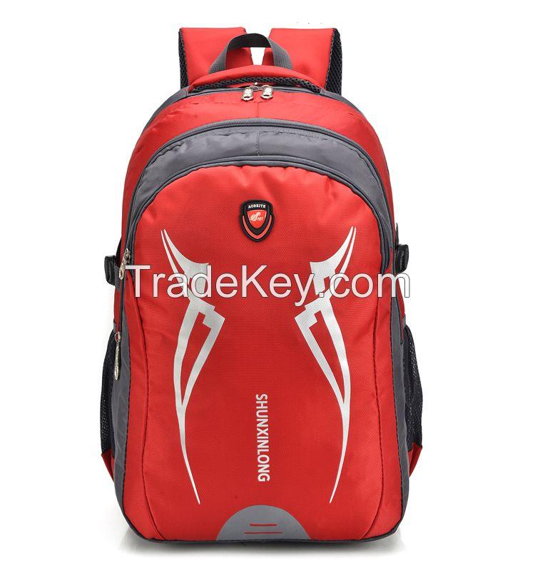 2017 custom travel backpack waterproof women backpack with low moq