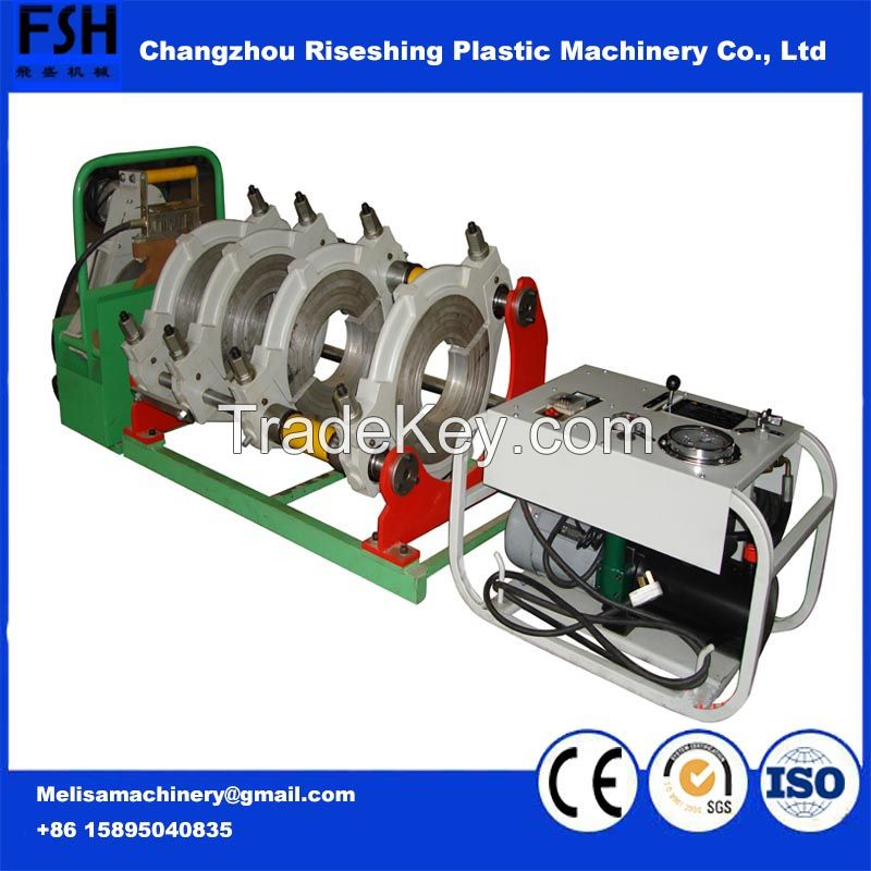 2017 China Manufacture Automatical SHD250 PVC/PE/PP Pipe Automatical  Fusion Butt Welder