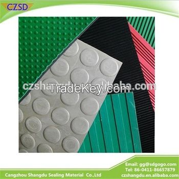 SD Colored Anti-Slip Rubber Sheet