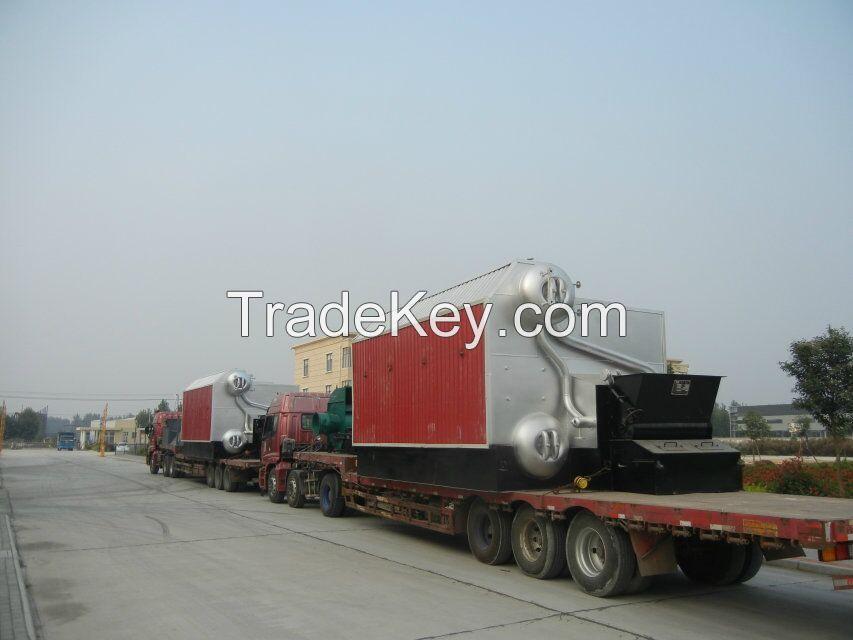 4t double-drum SZL coal fired steam boiler