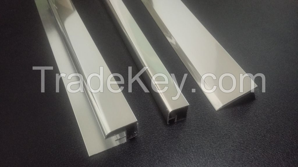 Aluminum Extrusion Profiles (bright dip)