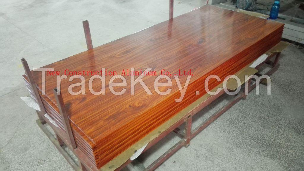 Wood grain aluminum sheet (Customized)