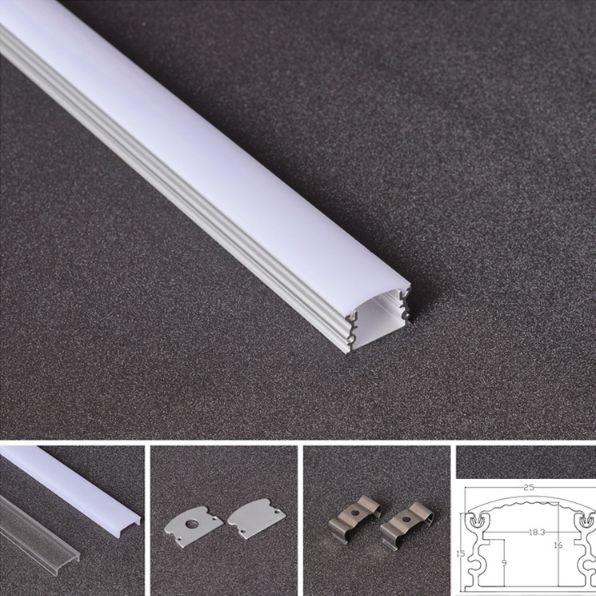Aluminum LED Profile 2515