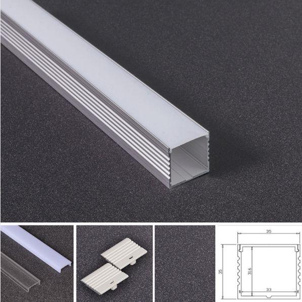 Aluminum LED Profile 3535