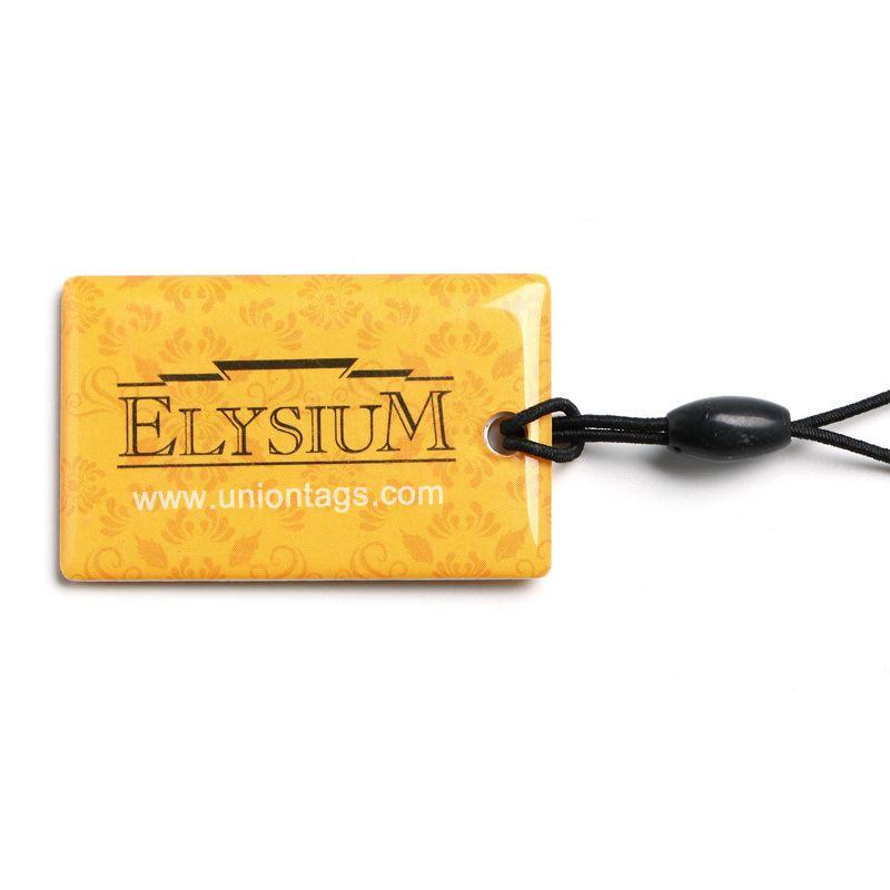 Epoxy MIFARE Ultralight C Proximity Smart Cards Epoxy NFC Tag