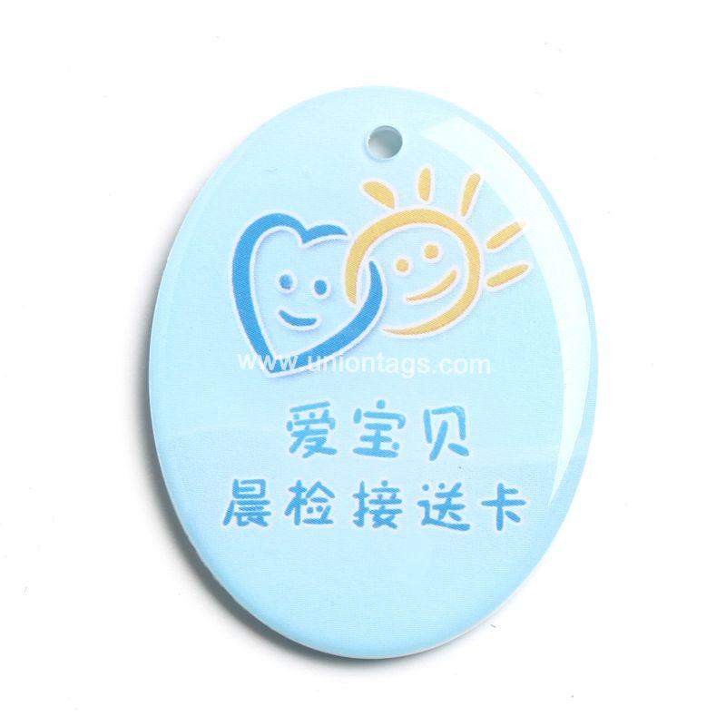 High quality chips Temic T5577 mini rfid tag epoxy card rfid tag