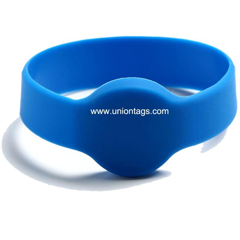 Cheap LF 125KHZ RFID Wristband TK4100 EM4200 EM4305 silicone wristband