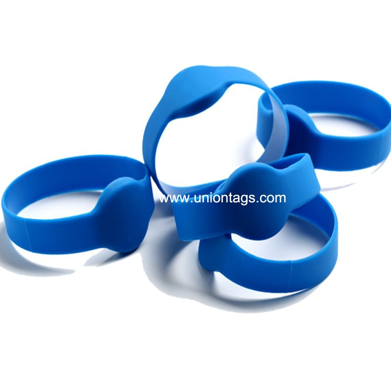 13.56MHz ISO 15693 I Code Sli RFID Woven Wristband for Events