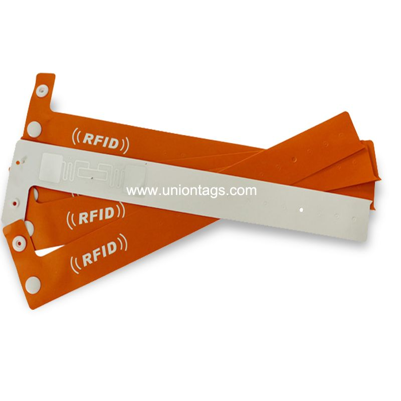 High Performance RFID Paper Wristbands Disposable Wearable RFID T