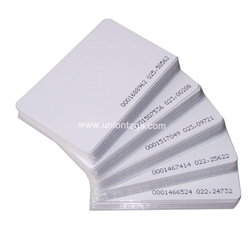 ISO18000-6C Passive UHF U CODE G2XM RFID Blank PVC Card