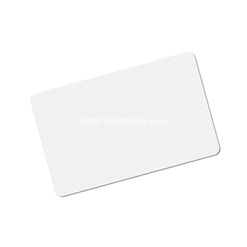 Parking Ticket Higgs-3 PVC Blank RFID UHF Smart Card