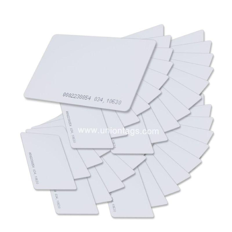 Blank UHF EPC Gen2 Alien H4 RFID Plastic Card Factory Wholesale