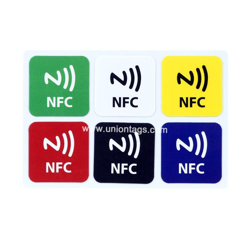 35x35MM 504Bytes Ntag215 Printed NFC Tag