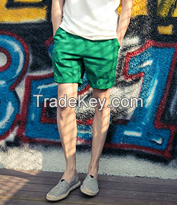 Lovers, summer cotton leisure five pants men and women beach pants sho